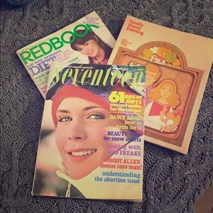 3 vintage magazines